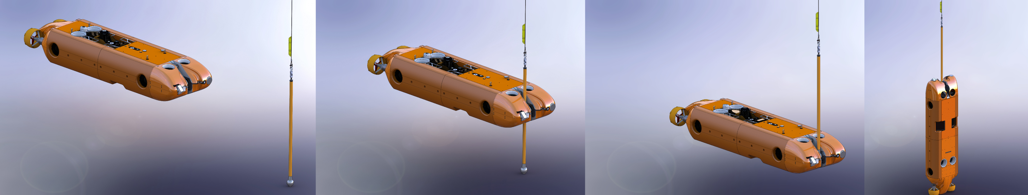 ARTEMIS hover-capable AUV docking sequence