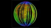 Chandrayaan-1 minerology map of the moon