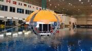 ENDURANCE robot during testing at NASA's Neutral Buoyancy Lab