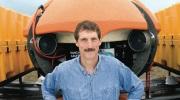 Bill Stone with DEPTHX robot