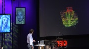 Bill Stone showing DEPTHX exploration of Cenote Zacaton during TED Talk