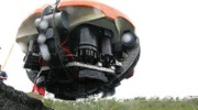 DEPTHX vehicle gets lowered in Mexican cenote