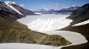 Lake Bonney and Taylor Glacier in the Dry Valleys of Antarctica