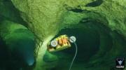 Sunfish vehicle exploring Peacock Springs in Florida