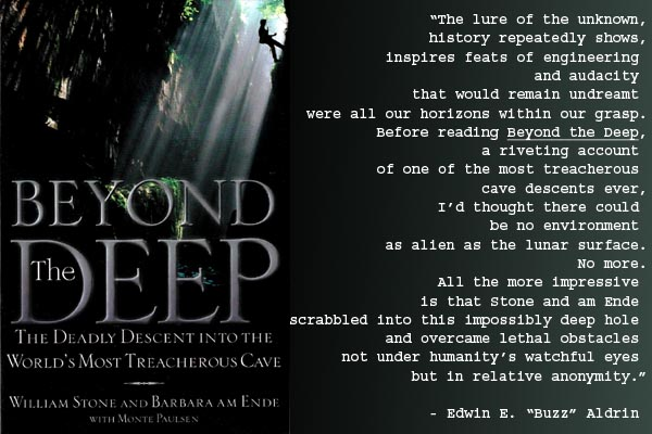 Buzz Aldrin review of the 'Beyond the Deep'