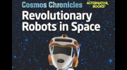 Revolutionary Robots in Space Book Cover