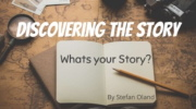 Discovering the Story Podcast logo